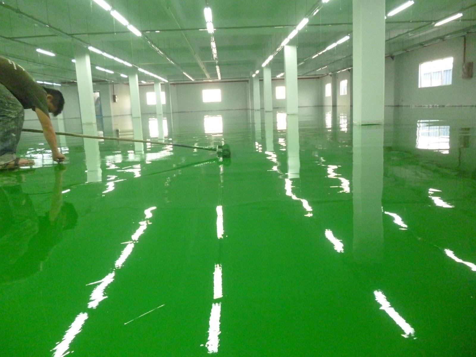 Dịch vụ sơn epoxy TPHCM