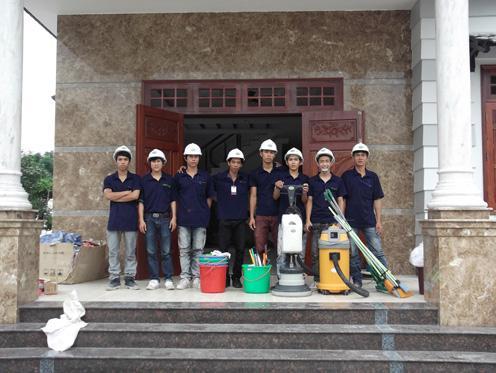 Công tyTNHHMTV vệ sinh công nghiệp Thiên Phúc Gia