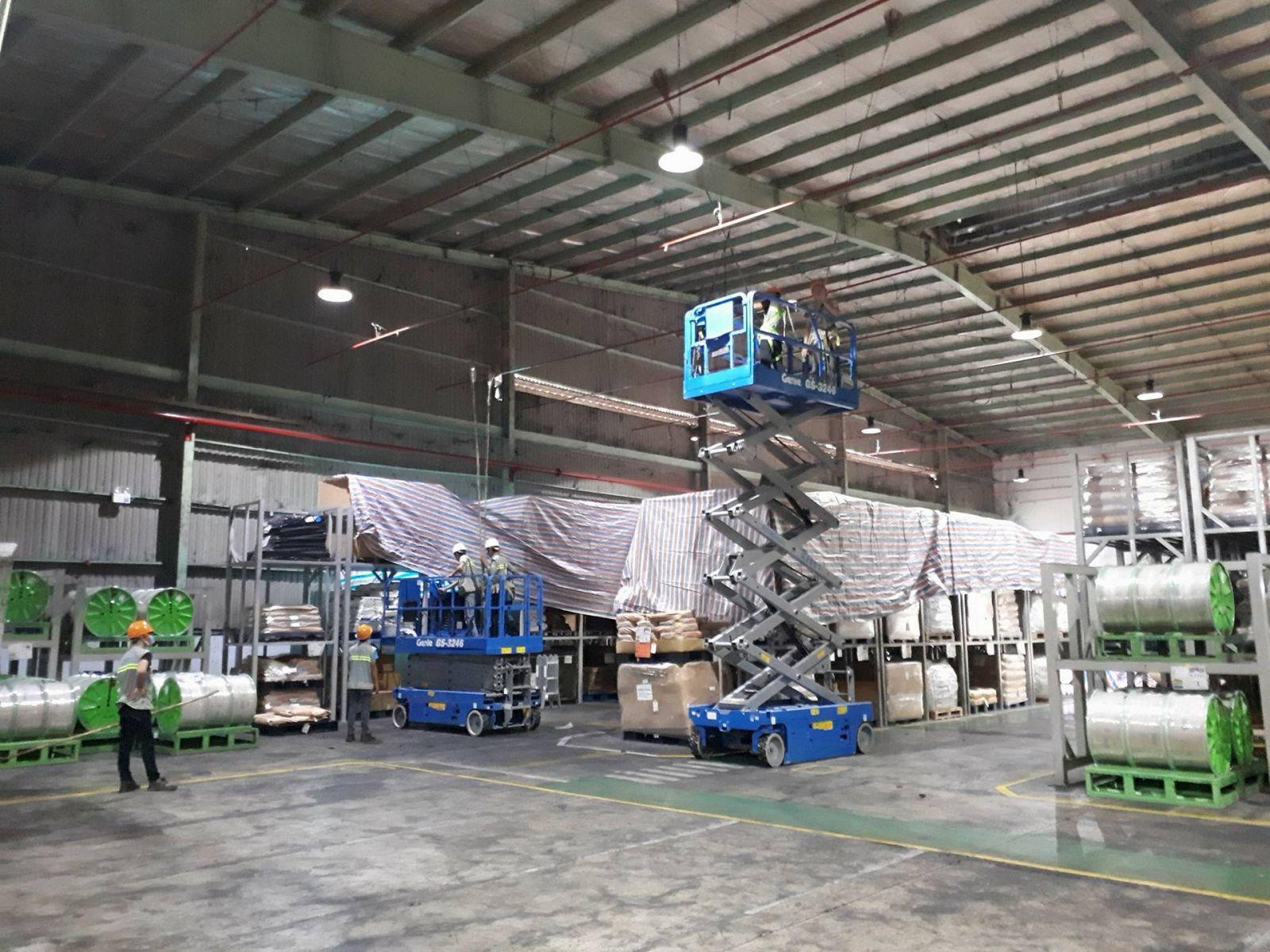 Dịch vụ vệ sinh nhà xưởng tại Tp.HCM
