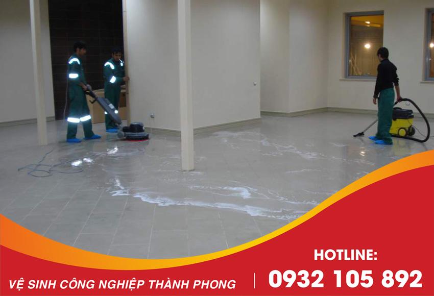 Thành Phong cung cấp dịch vụ đánh bóng sàn đá Granite uy tín, chuyên nghiệp