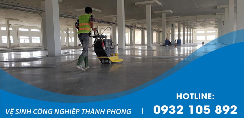 Thành Phong cung cấp dịch vụ đánh bóng bê tông uy tín giá rẻ
