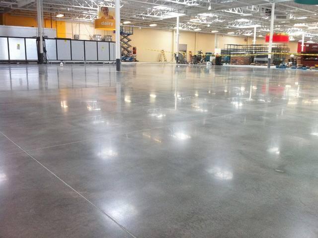 Chất lượng sàn bê tông sau mài bóng bê tông đạt tiêu chuẩn và độ thẩm mỹ cao