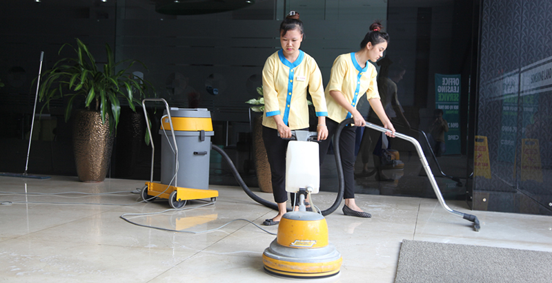 vệ sinh công nghiệp Bình Dương
