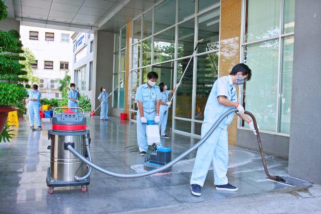 Dịch vụ vệ sinh chuyên nghiệp ở Long An