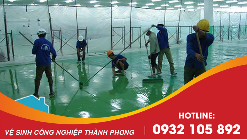 Công ty dịch vụ vệ sinh Thành Phong cung cấp dịch vụ Sơn Epoxy tại Đà Nẵng uy tín, chuyên nghiệp