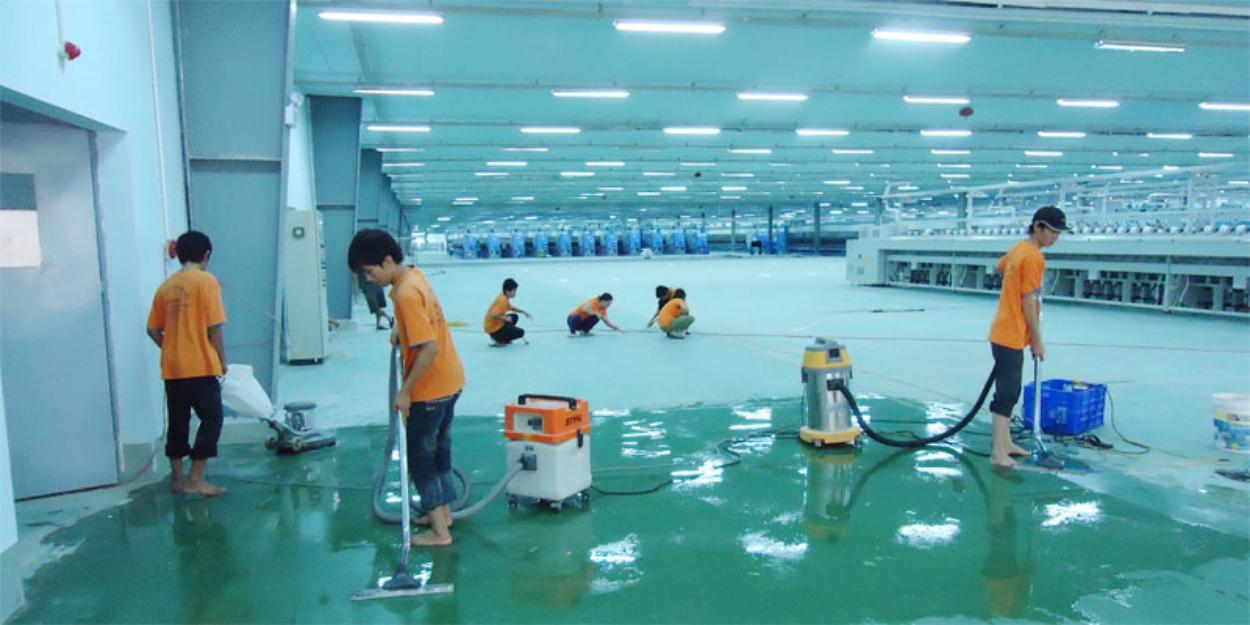 vệ sinh công trình Tp.HCM
