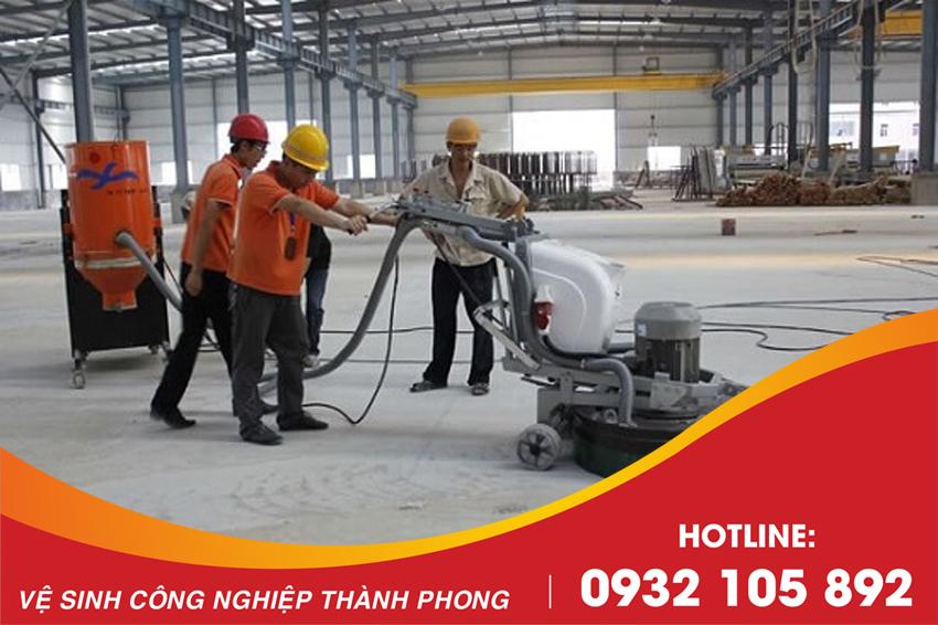 Thành Phong là đơn vị hàng đầu cung cấp dịch vụ mài sàn bê tông Đà Nẵng hiện nay