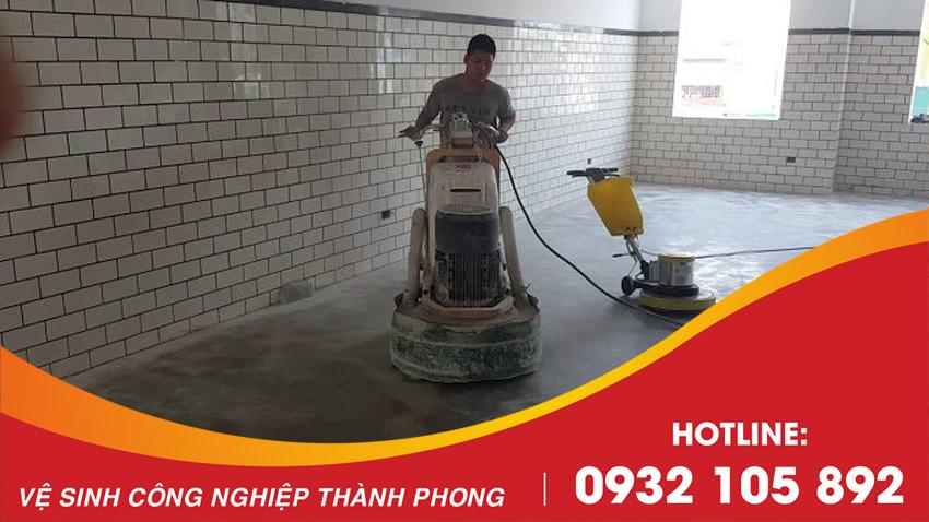 Thành Phong là đơn vị thi công mài sàn bê tông tốt nhất Đà Nẵng