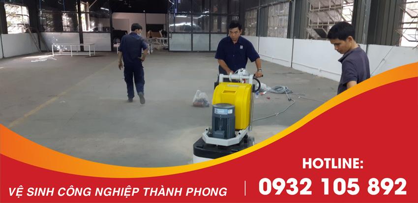Thành Phong là đơn vị uy tín nhất cung cấp bảng báo giá mài phủ bóng sàn bê tông