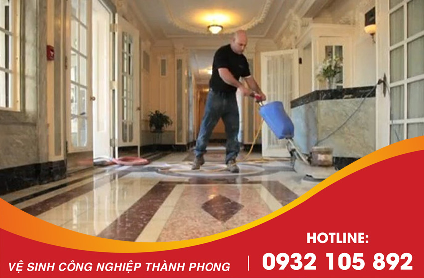 Thành Phong cung cấp dịch vụ đánh bóng sàn đá Marble Đà Nẵng uy tín, chuyên nghiệp