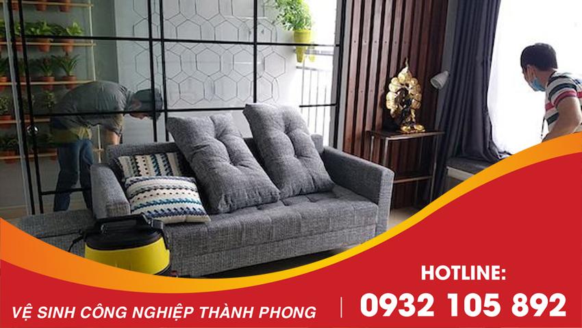 Thành Phong cung cấp dịch vụ giặt ghế sofa tại Đà Nẵng uy tín, giá rẻ
