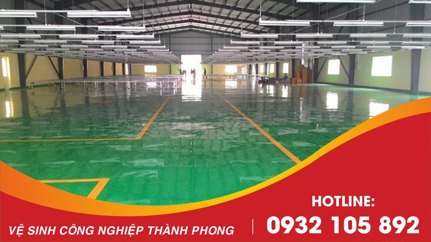 Thành Phong cung cấp báo giá sơn nền Epoxy tốt nhất tại Đà Nẵng