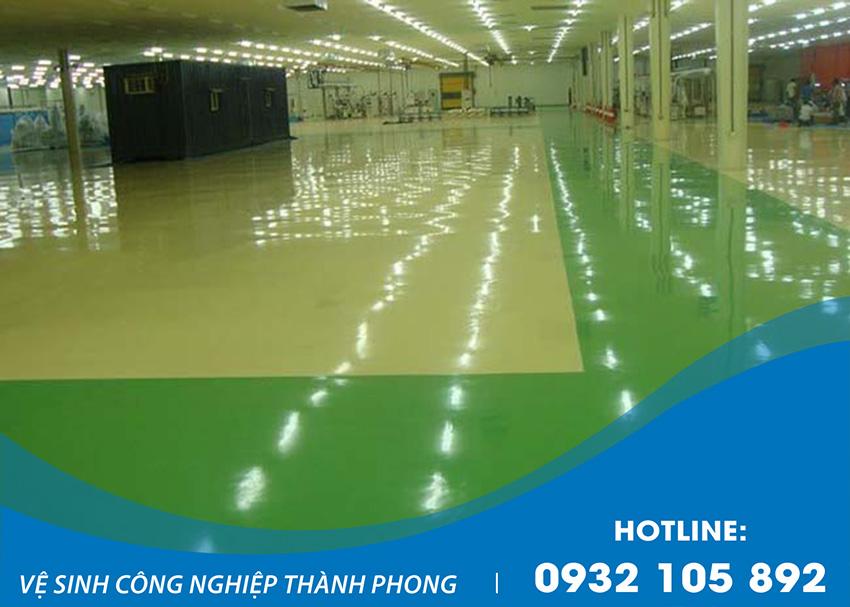 Thành Phong là đơn vị cung cấp dịch vụ sơn Epoxy, sơn nền nhà xưởng uy tín, chất lượng