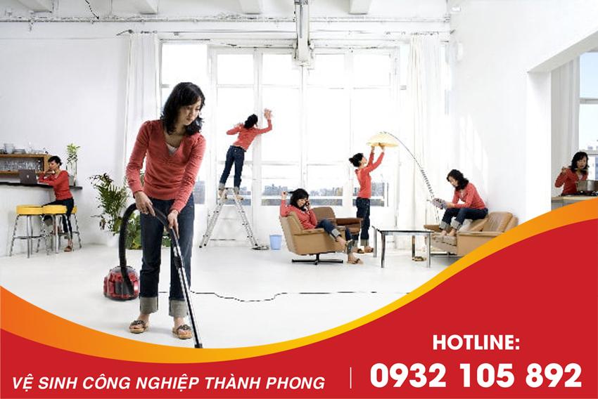 Thành Phong công ty dịch vụ vệ sinh nhà tại Đà Nẵng uy tín, chuyên nghiệp số 1