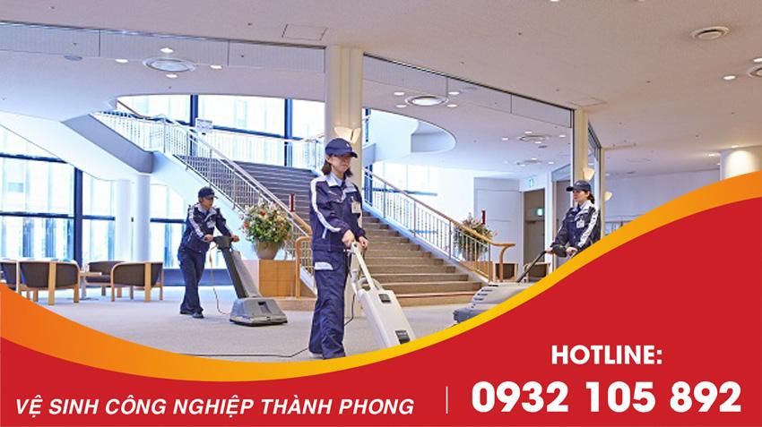 Thành Phong cung cấp dịch vụ vệ sinh tòa nhà Đà Nẵng uy tín, chất lượng, giá rẻ nhất